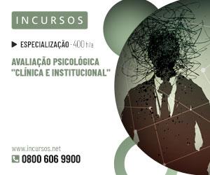 """Publicidade: Avaliação Psicológica """"Clínica e Institucional"""""""