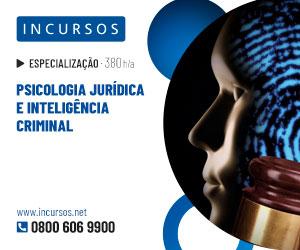 Publicidade: Psicologia Jurídica e Inteligência Criminal